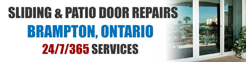 Sliding Patio Glass Door Repairs in Brampton